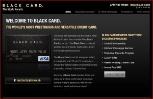 American Express - The Black Card