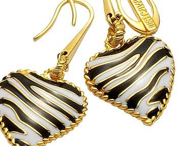 Just Cavalli - Zebra Heart Earings