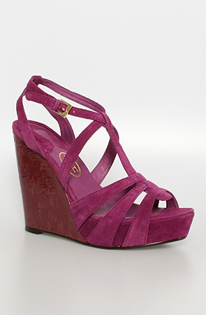 The Tahiti Wedge in Purple By Ash Shoes