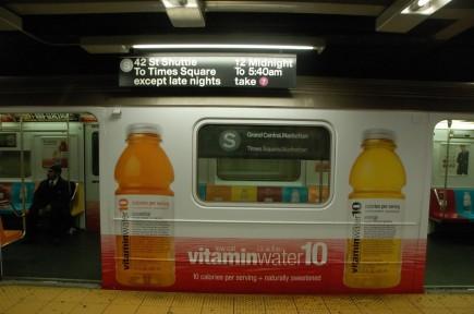 Subway Vitamin Water Ad