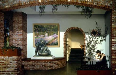 3D Mural Interior