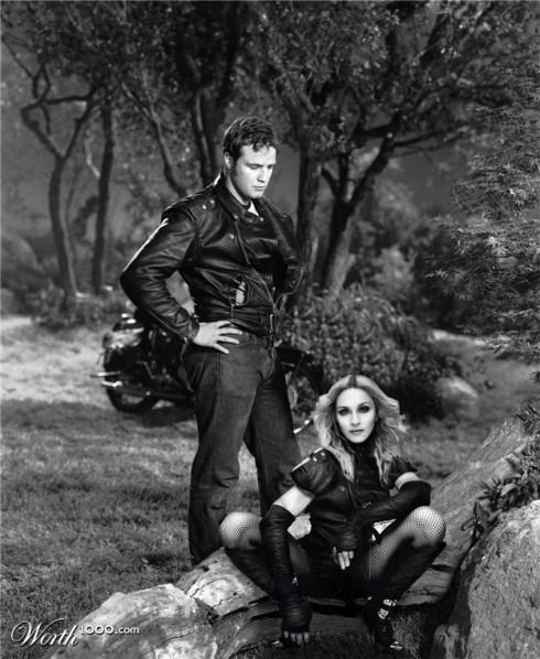 Brando + Madonna