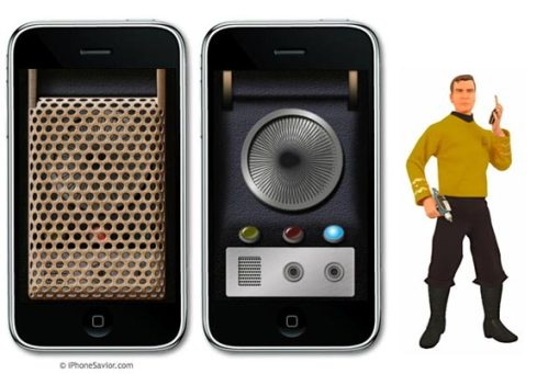 Star Trek Communicator iPhone App
