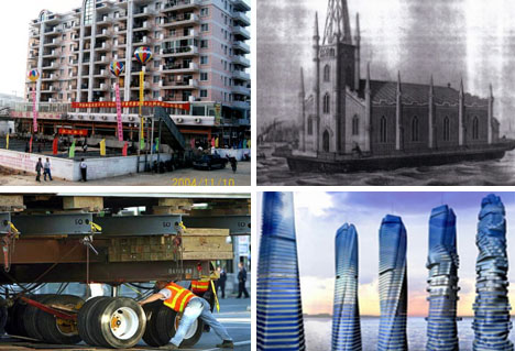 136 Amazing Approaches to Architecture - 7) The Biggest Building Moving Project in the World