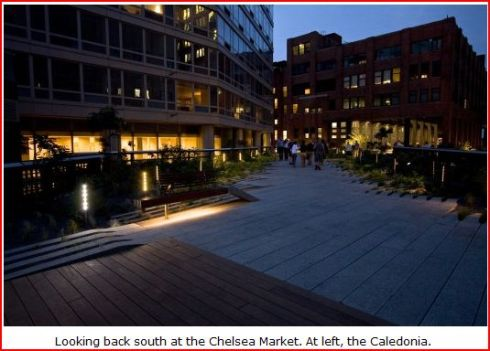Chelsea Market - At left the Caledonia