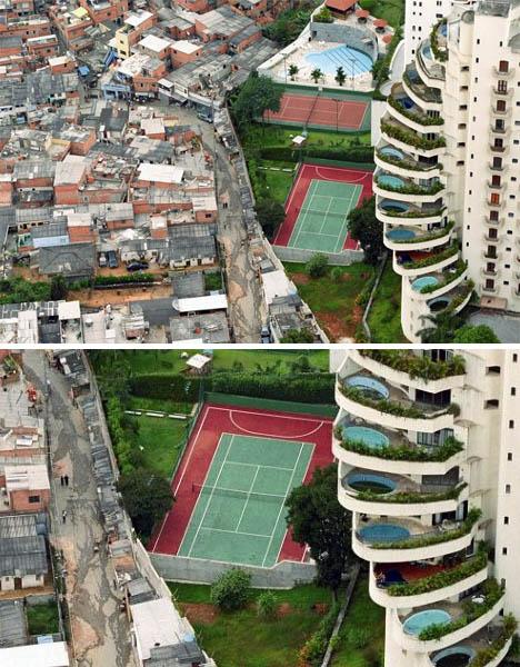 Extreme Rich Poor Divides
