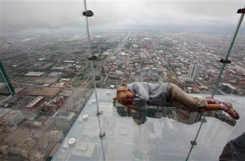Sears Tower The  Ledge