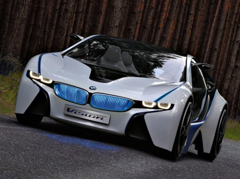 BMW reveals Vision EfficientDynamics turbodiesel plug-in hybrid concept