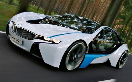 BMW Vision Efficient Dynamics Concept Front Motion