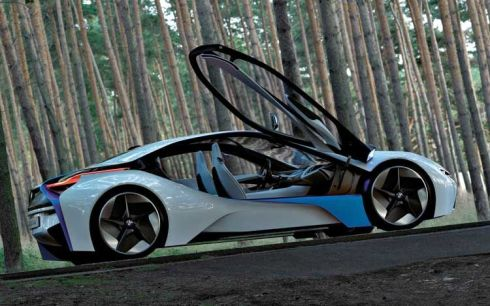 St0BMW-Vision-Efficient-Dynamics-Concept-Side-View-Doors-Up