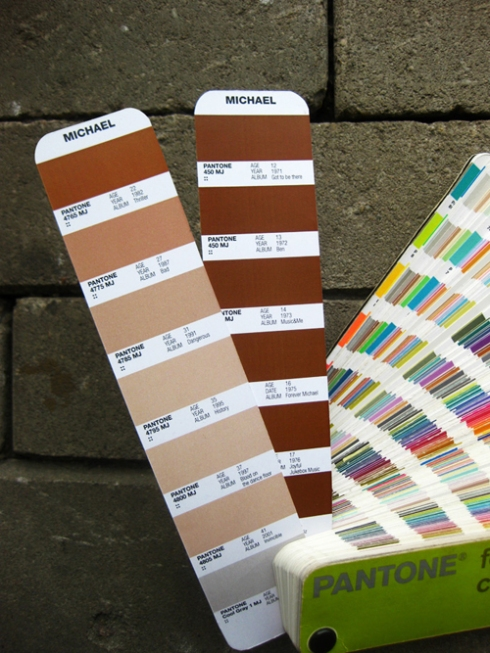 The Michael Jackson Pantone Color Guide