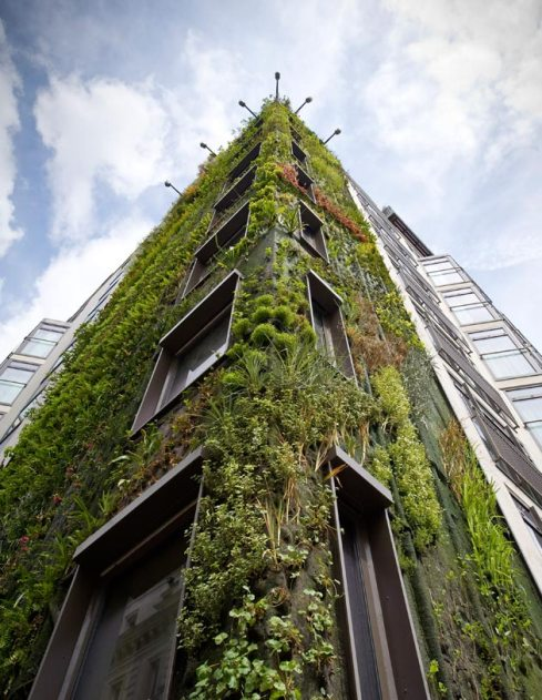 8-Story Antigravity Forest Facade