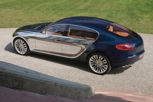 Bugatti 16C Galibier - back