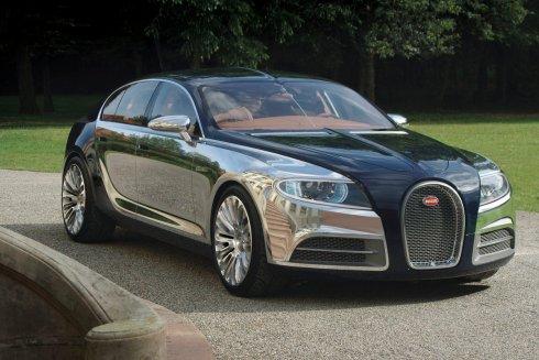 Bugatti 16C Galibier - front