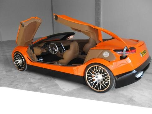 Bewerp Savage Rivale Roadyacht GTS - doors