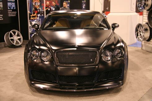 Blackout Bentley